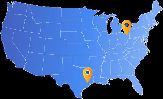 ONEx Locations